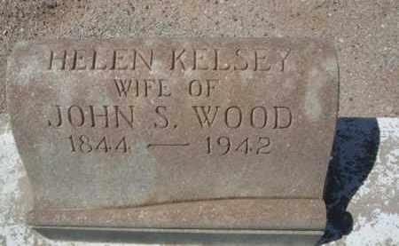 KELSEY WOOD, HELEN - Pima County, Arizona | HELEN KELSEY WOOD - Arizona Gravestone Photos