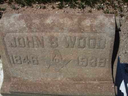 WOOD, JOHN S. - Pima County, Arizona   JOHN S. WOOD - Arizona Gravestone Photos