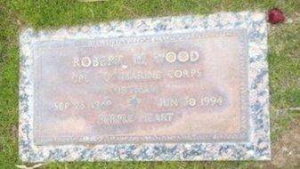 WOOD, ROBERT M. - Pima County, Arizona   ROBERT M. WOOD - Arizona Gravestone Photos