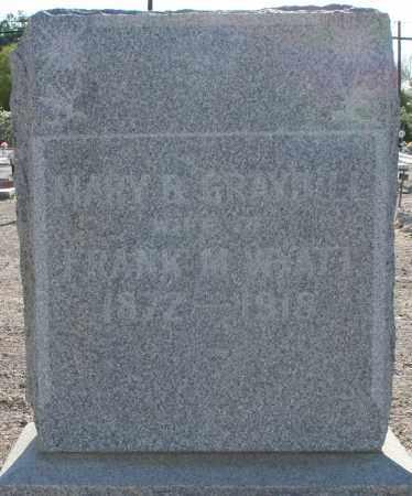 GRAYBILL WYATT, MARY B. - Pima County, Arizona | MARY B. GRAYBILL WYATT - Arizona Gravestone Photos