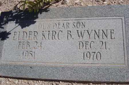 WYNNE, KIRC B. - Pima County, Arizona | KIRC B. WYNNE - Arizona Gravestone Photos