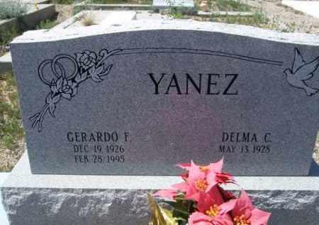 YANEZ, GERARDO F. - Pima County, Arizona | GERARDO F. YANEZ - Arizona Gravestone Photos