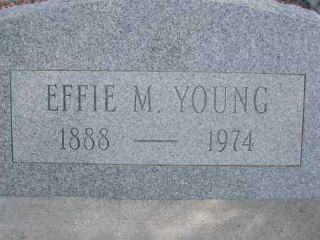 YOUNG, EFFIE M. - Pima County, Arizona | EFFIE M. YOUNG - Arizona Gravestone Photos