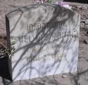YOUNG, EVELYNE - Pima County, Arizona | EVELYNE YOUNG - Arizona Gravestone Photos