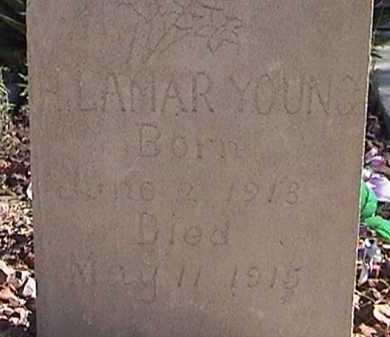 YOUNG, H. LAMER - Pima County, Arizona | H. LAMER YOUNG - Arizona Gravestone Photos