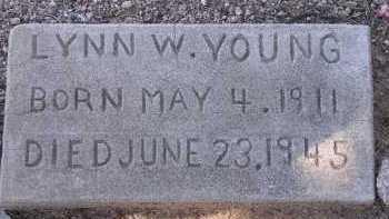 YOUNG, LYNN W. - Pima County, Arizona   LYNN W. YOUNG - Arizona Gravestone Photos