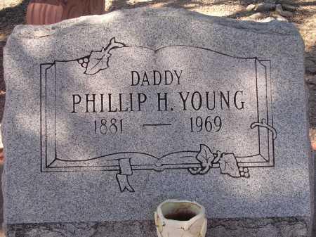 YOUNG, PHILLIP H. - Pima County, Arizona | PHILLIP H. YOUNG - Arizona Gravestone Photos