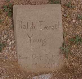 YOUNG, RALPH EVERETT - Pima County, Arizona | RALPH EVERETT YOUNG - Arizona Gravestone Photos