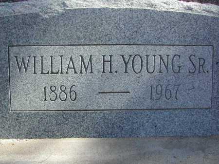 YOUNG, WILLIAM H. SR. - Pima County, Arizona   WILLIAM H. SR. YOUNG - Arizona Gravestone Photos