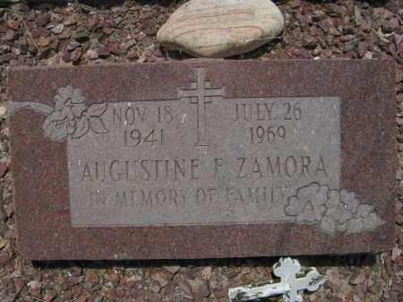ZAMORA, AUGUSTINE F. - Pima County, Arizona | AUGUSTINE F. ZAMORA - Arizona Gravestone Photos