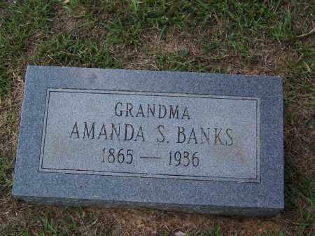 BANKS, AMANDA S - Cleveland County, Arkansas | AMANDA S BANKS - Arkansas Gravestone Photos