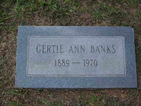 BANKS, GERTIE ANN - Cleveland County, Arkansas | GERTIE ANN BANKS - Arkansas Gravestone Photos