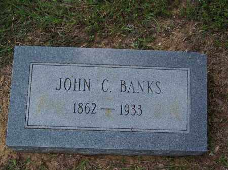 BANKS, JOHN C - Cleveland County, Arkansas   JOHN C BANKS - Arkansas Gravestone Photos