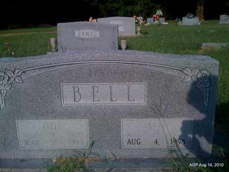 BELL, MAE - Cleveland County, Arkansas | MAE BELL - Arkansas Gravestone Photos