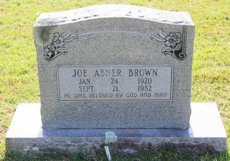 BROWN, JOE ABNER - Cleveland County, Arkansas | JOE ABNER BROWN - Arkansas Gravestone Photos