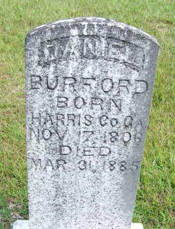 BURFORD, DANIEL - Cleveland County, Arkansas | DANIEL BURFORD - Arkansas Gravestone Photos
