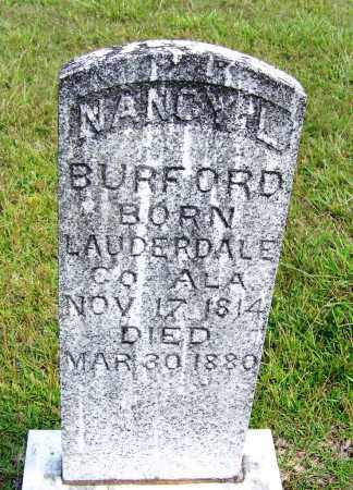BURFORD, NANCY L - Cleveland County, Arkansas   NANCY L BURFORD - Arkansas Gravestone Photos