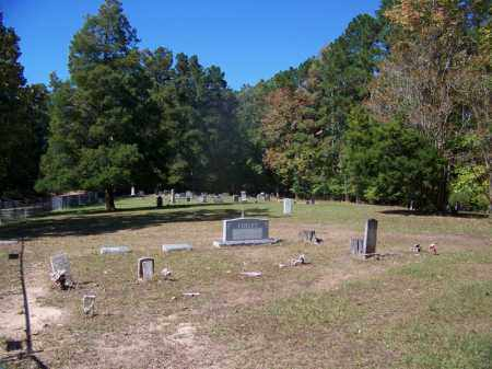 *CAMP SPRINGS CEMETERY VIEW,  - Cleveland County, Arkansas |  *CAMP SPRINGS CEMETERY VIEW - Arkansas Gravestone Photos