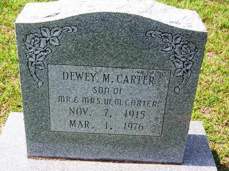 CARTER, DEWEY M - Cleveland County, Arkansas | DEWEY M CARTER - Arkansas Gravestone Photos