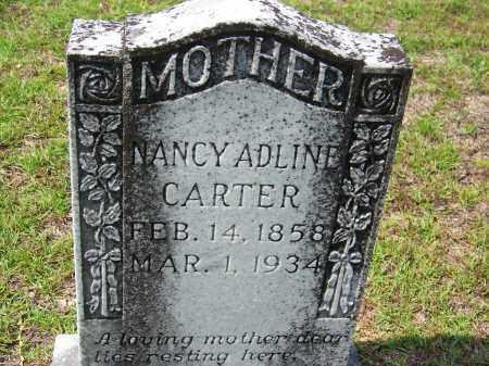 CARTER, NANCY ADLINE - Cleveland County, Arkansas | NANCY ADLINE CARTER - Arkansas Gravestone Photos