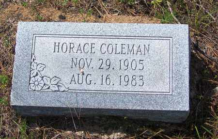 COLEMAN, HORACE - Cleveland County, Arkansas   HORACE COLEMAN - Arkansas Gravestone Photos