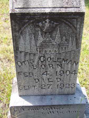 COLEMAN, OTIS - Cleveland County, Arkansas | OTIS COLEMAN - Arkansas Gravestone Photos
