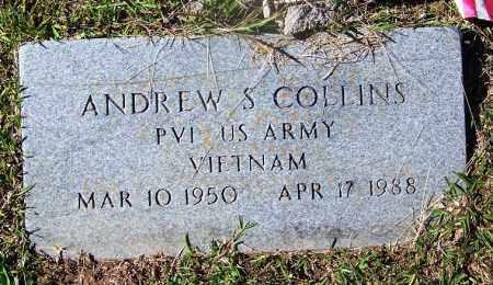 COLLINS (VETERAN VIET), ANDREW S - Cleveland County, Arkansas   ANDREW S COLLINS (VETERAN VIET) - Arkansas Gravestone Photos