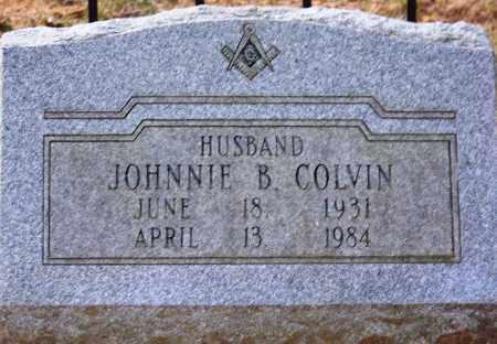 COLVIN, JOHNNIE B - Cleveland County, Arkansas | JOHNNIE B COLVIN - Arkansas Gravestone Photos