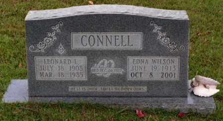 CONNELL, LULA EDNA - Cleveland County, Arkansas | LULA EDNA CONNELL - Arkansas Gravestone Photos