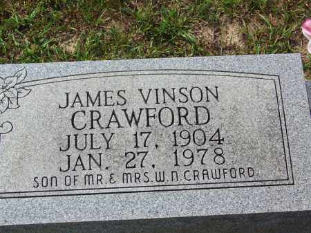 CRAWFORD, JAMES VINSON - Cleveland County, Arkansas | JAMES VINSON CRAWFORD - Arkansas Gravestone Photos