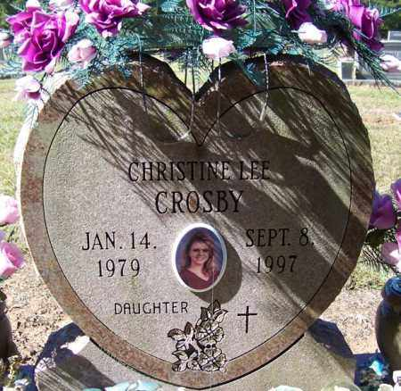 CROSBY, CHRISTINE - Cleveland County, Arkansas | CHRISTINE CROSBY - Arkansas Gravestone Photos