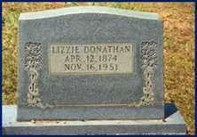 "DONATHAN, ELIZABETH ""LIZZIE"" - Cleveland County, Arkansas   ELIZABETH ""LIZZIE"" DONATHAN - Arkansas Gravestone Photos"