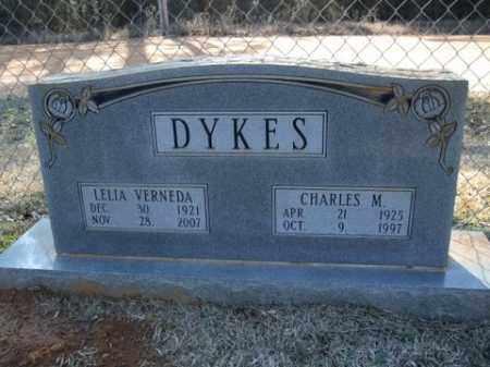 DYKES, CHARLES M. - Cleveland County, Arkansas   CHARLES M. DYKES - Arkansas Gravestone Photos