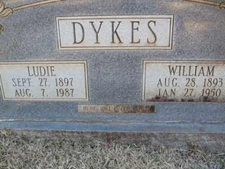 DYKES, WILLIAM - Cleveland County, Arkansas | WILLIAM DYKES - Arkansas Gravestone Photos