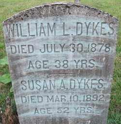 DYKES, SUSAN A - Cleveland County, Arkansas | SUSAN A DYKES - Arkansas Gravestone Photos