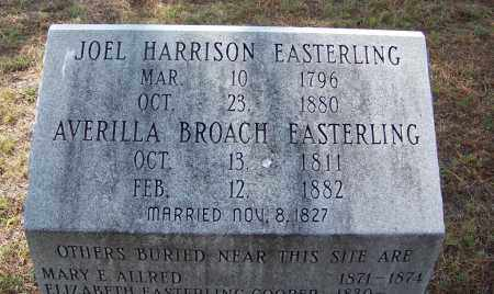 EASTERLING, JOEL HARRISON - Cleveland County, Arkansas | JOEL HARRISON EASTERLING - Arkansas Gravestone Photos