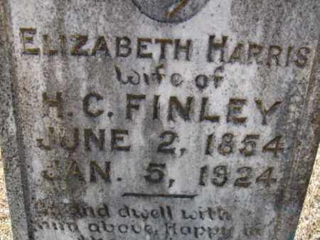 FINLEY, ELIZABETH - Cleveland County, Arkansas | ELIZABETH FINLEY - Arkansas Gravestone Photos