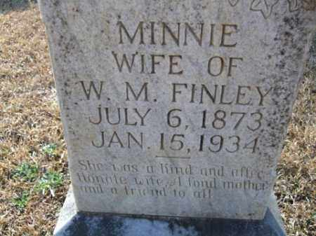 FINLEY, MINNIE - Cleveland County, Arkansas | MINNIE FINLEY - Arkansas Gravestone Photos