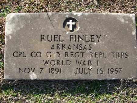 FINLEY (VETERAN WWI), RUEL - Cleveland County, Arkansas | RUEL FINLEY (VETERAN WWI) - Arkansas Gravestone Photos