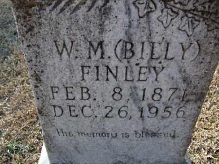 FINLEY, W. M. (BILLY) - Cleveland County, Arkansas | W. M. (BILLY) FINLEY - Arkansas Gravestone Photos