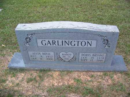 GARLINGTON, DORIS - Cleveland County, Arkansas | DORIS GARLINGTON - Arkansas Gravestone Photos