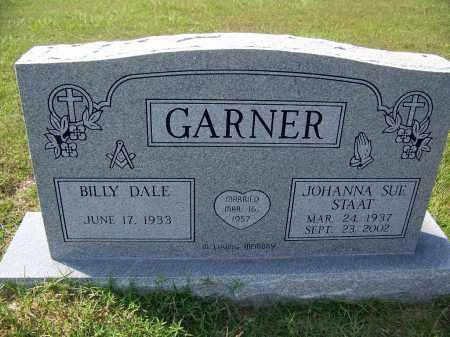 STAAT GARNER, JOHANNA SUE - Cleveland County, Arkansas | JOHANNA SUE STAAT GARNER - Arkansas Gravestone Photos