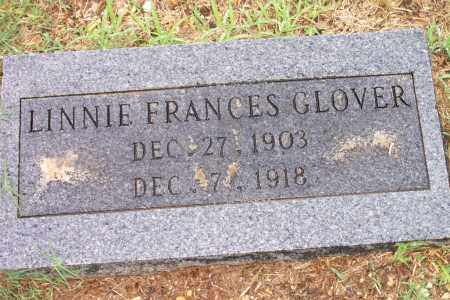 GLOVER, LINNIE - Cleveland County, Arkansas   LINNIE GLOVER - Arkansas Gravestone Photos