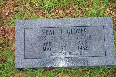 GLOVER (VETERAN WWII), NEAL - Cleveland County, Arkansas | NEAL GLOVER (VETERAN WWII) - Arkansas Gravestone Photos