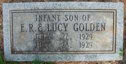 GOLDEN, INFANT SON - Cleveland County, Arkansas | INFANT SON GOLDEN - Arkansas Gravestone Photos
