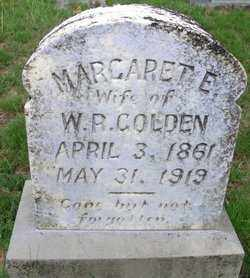 GOLDEN, MARGARET  E - Cleveland County, Arkansas | MARGARET  E GOLDEN - Arkansas Gravestone Photos