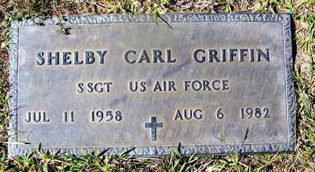 GRIFFIN (VETERAN), SHELBY CARL - Cleveland County, Arkansas | SHELBY CARL GRIFFIN (VETERAN) - Arkansas Gravestone Photos