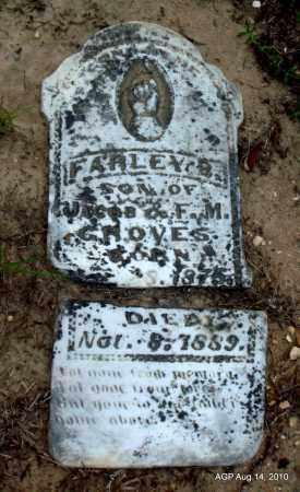 GROVES, FARLEY B - Cleveland County, Arkansas   FARLEY B GROVES - Arkansas Gravestone Photos