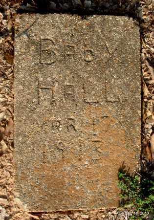 HALL, BABY - Cleveland County, Arkansas | BABY HALL - Arkansas Gravestone Photos