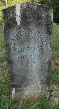 HALL (VETERAN CSA), JAMES H - Cleveland County, Arkansas   JAMES H HALL (VETERAN CSA) - Arkansas Gravestone Photos